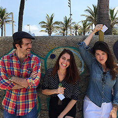 K. Probióticos Artesanais - Marcela Correia, Rodrigo Vecchi e Élide Vecchi