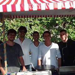 Fazenda Marinha Vieiras da Ilha - Felipe, Nuno, Bruno e Bernardo