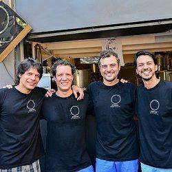 Cevaderia - Guto Pinho, Leandro Vairo, Marcelo Rheingantz e Chico Mello