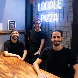 Locale Pizza - Guilardo Rocha, Francesco Masello e Ana Beatriz Santos